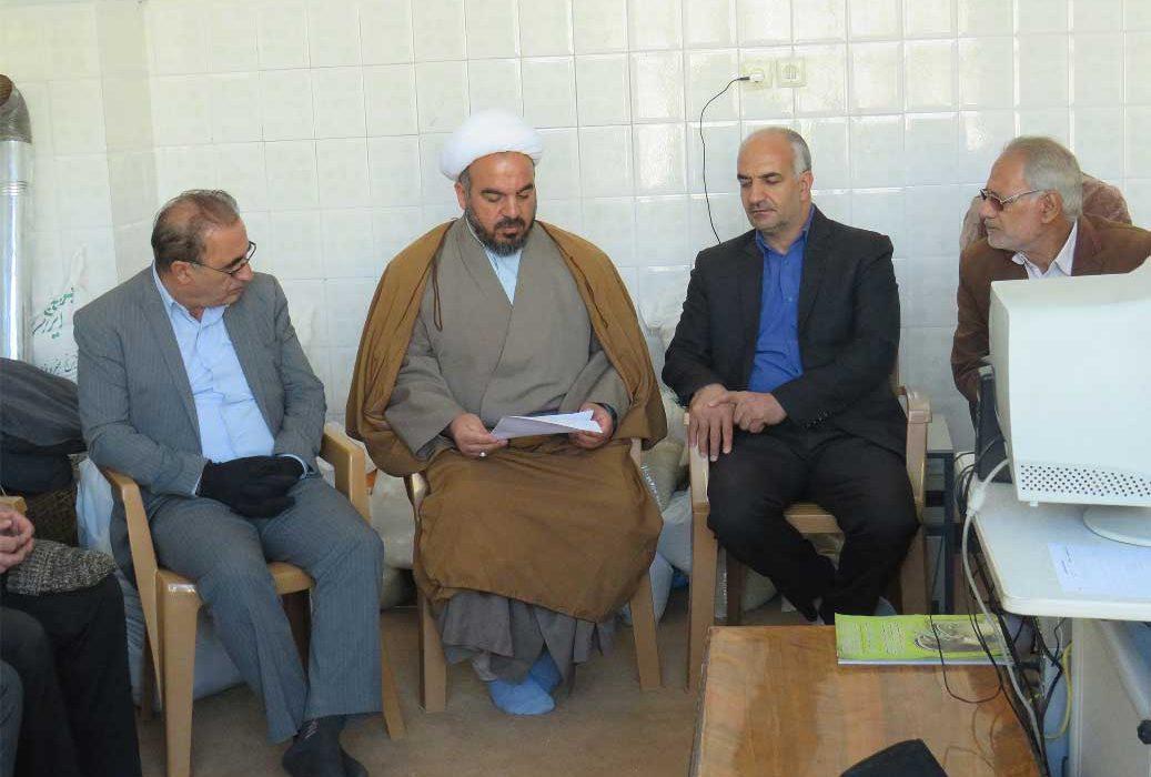 بازدید رئیس کمیته امداد نجف آباد از مرکز نیکوکاری ویلاشهر