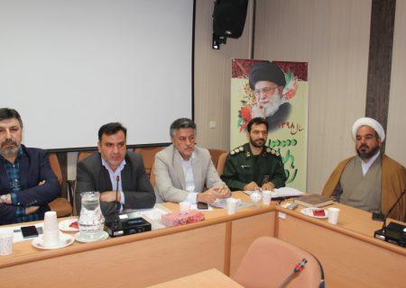 جلسه ستاد مبارزه با کرونا شهرستان نجف آباد