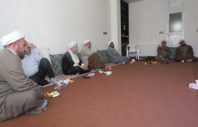جلسه فصلی ائمه جمعه دو شهرستان نجف آباد و تیران و کرون به میزبانی امام جمعه ویلاشهر