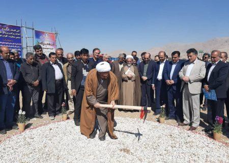 کلنگ زنی زیرگذر ویلاشهر نجف آباد