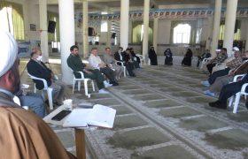 جلسه قرارگاه فرهنگی رزمایش مواسات ویلاشهر